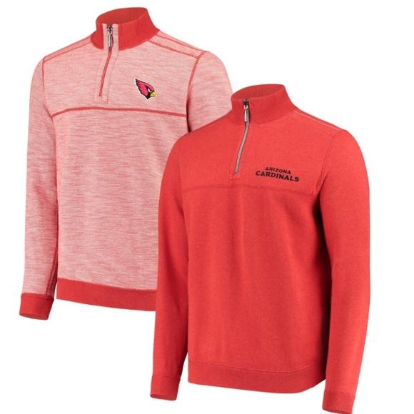 Tommy Bahama NFL Flip Drive Half-Zip Sweater Sz XL 43882ea15